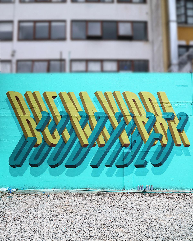 Стрит-арт с потрясающим трёхмерным эффектом