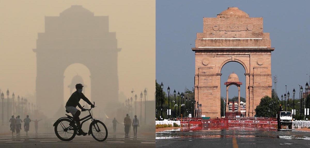 До и после: позитивный эффект глобальной изоляции на окружающую среду