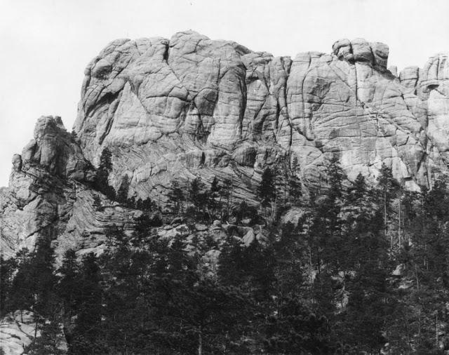 Гора «Шесть праотцов» до высечения на ней президентов США