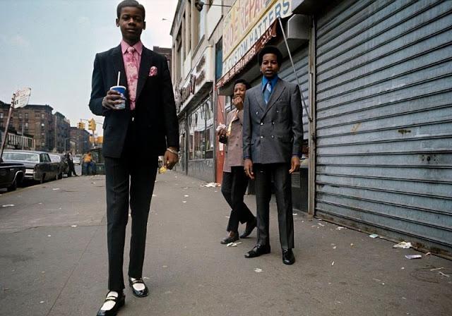 Гарлемские модники в костюмах