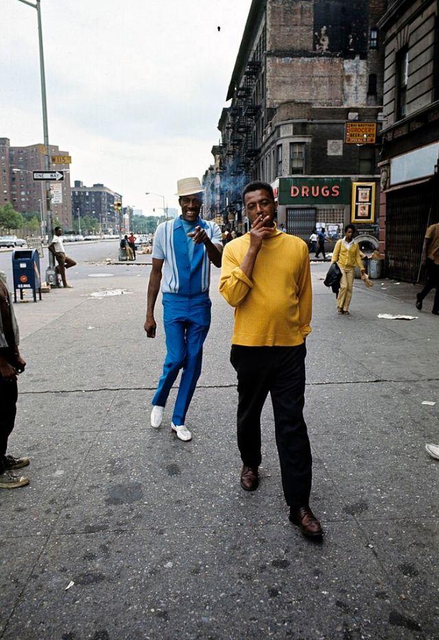 Гарлемские жители