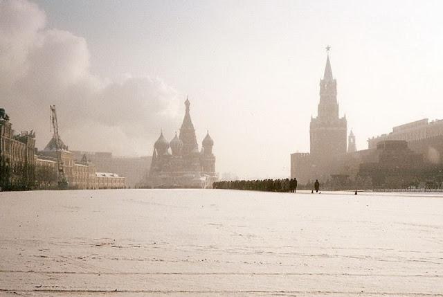 Москва, очередь к Ленину