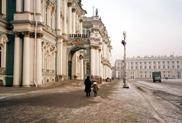 Ленинград, Дворцовая площадь, Зимний дворец