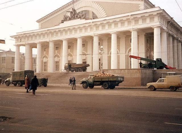 Ленинград, здание биржи