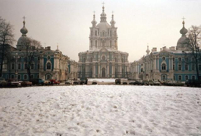Ленинград, Смольный собор