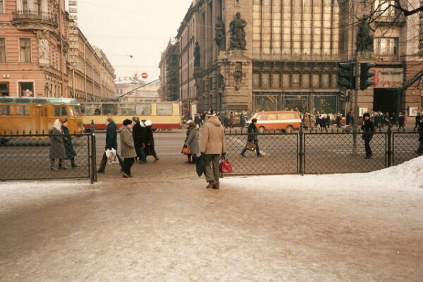 Увлекательные снимки жизни в СССР в середине 1980-х годов