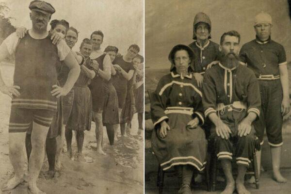 Как выглядели купальные костюмы в викторианскую эпоху