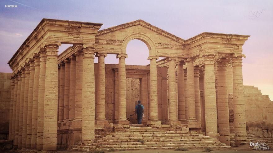 Древний город Хатра