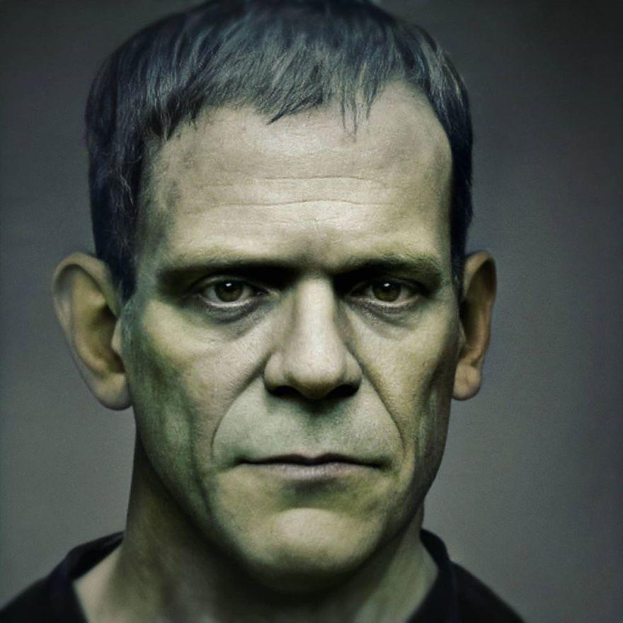 Монстр Франкенштейна