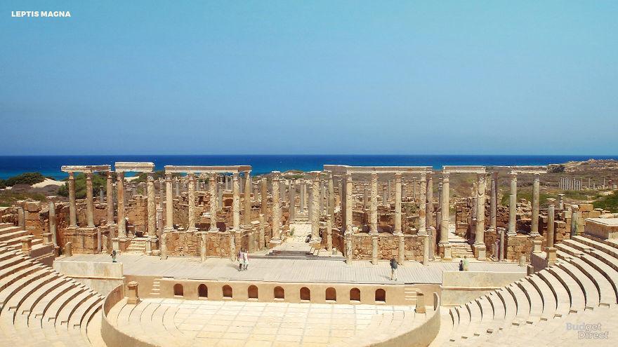 Лептис-Магна, Ливия