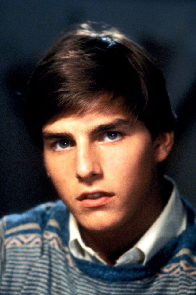 Молодой Том Круз