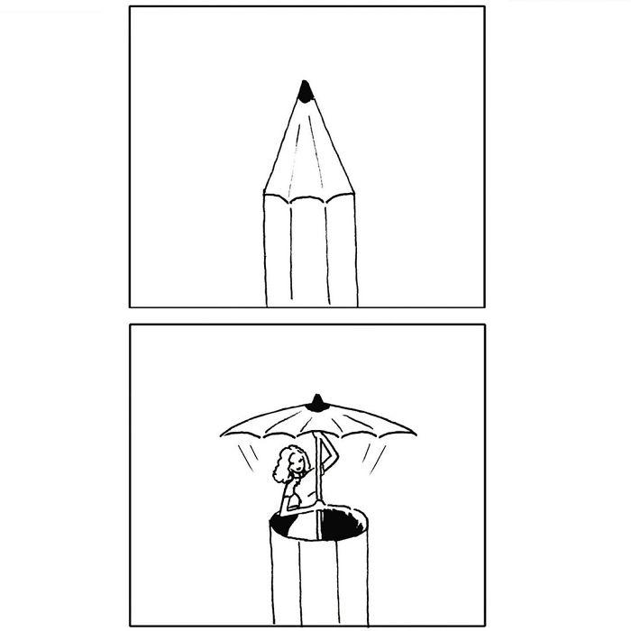Остроумные комиксы от художника Танго Гао