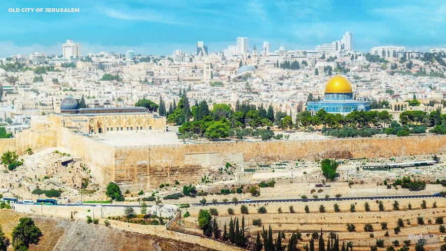Старый город в Иерусалиме и его крепостные стены, Израиль