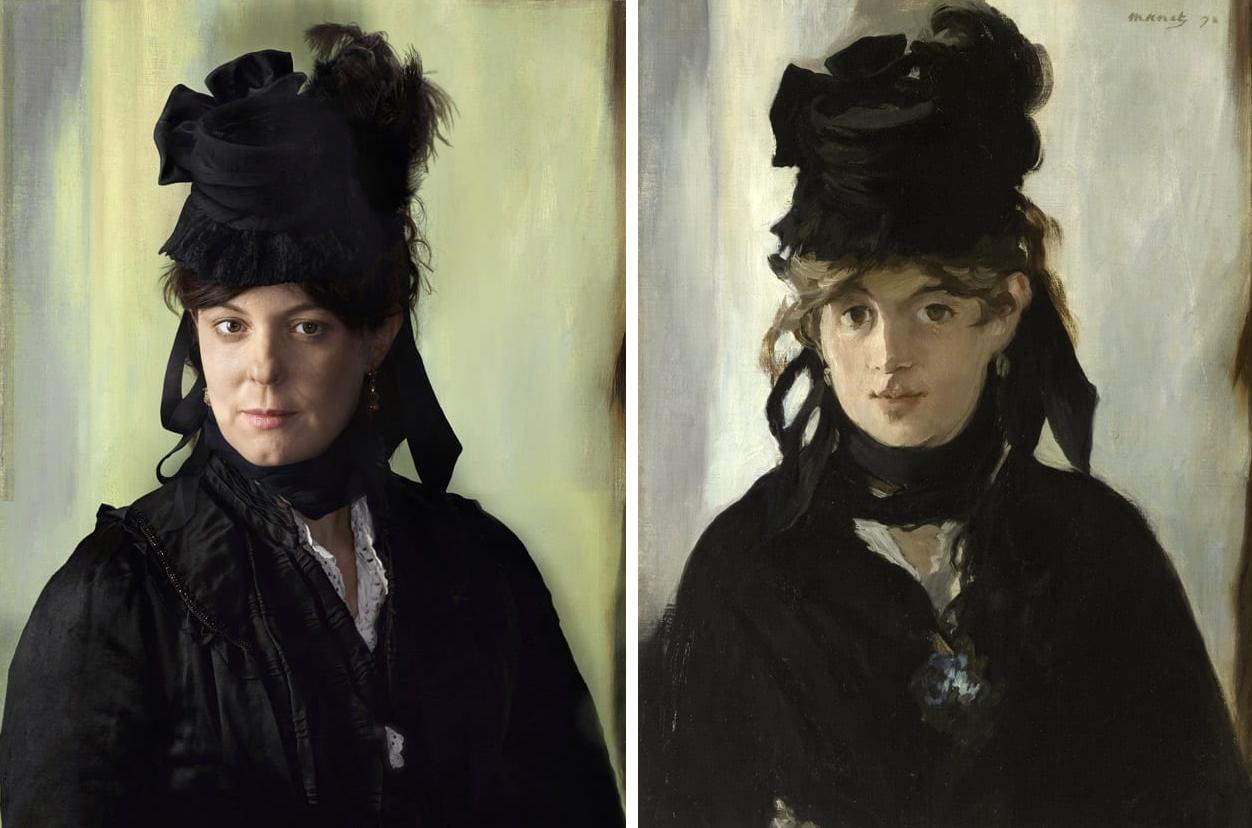 Берта Моризо, художница, и её правнучка Люси Руарт