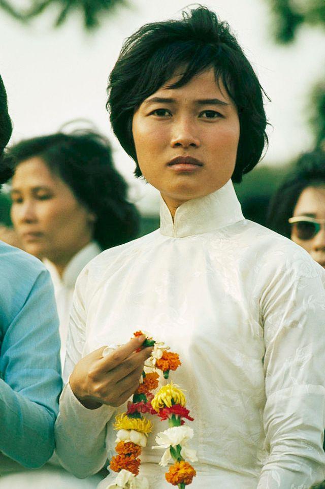 Цветные фотографии жизни в Сайгоне в 1960-х годах