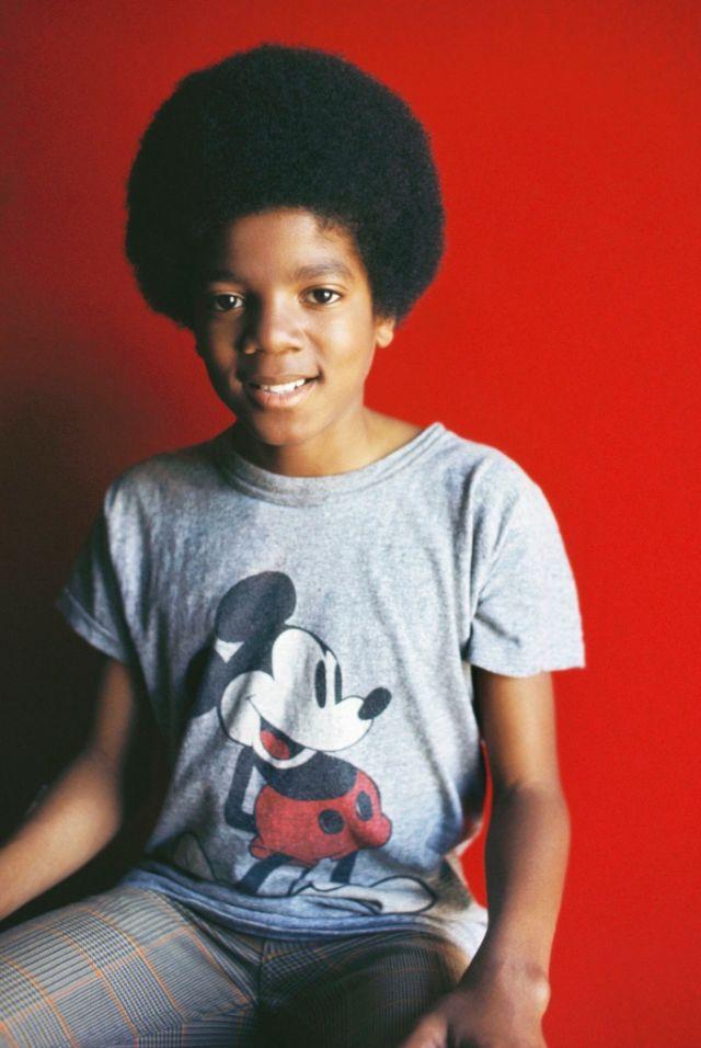 Цветные фотографии Майкла Джексона в подростковом возрасте