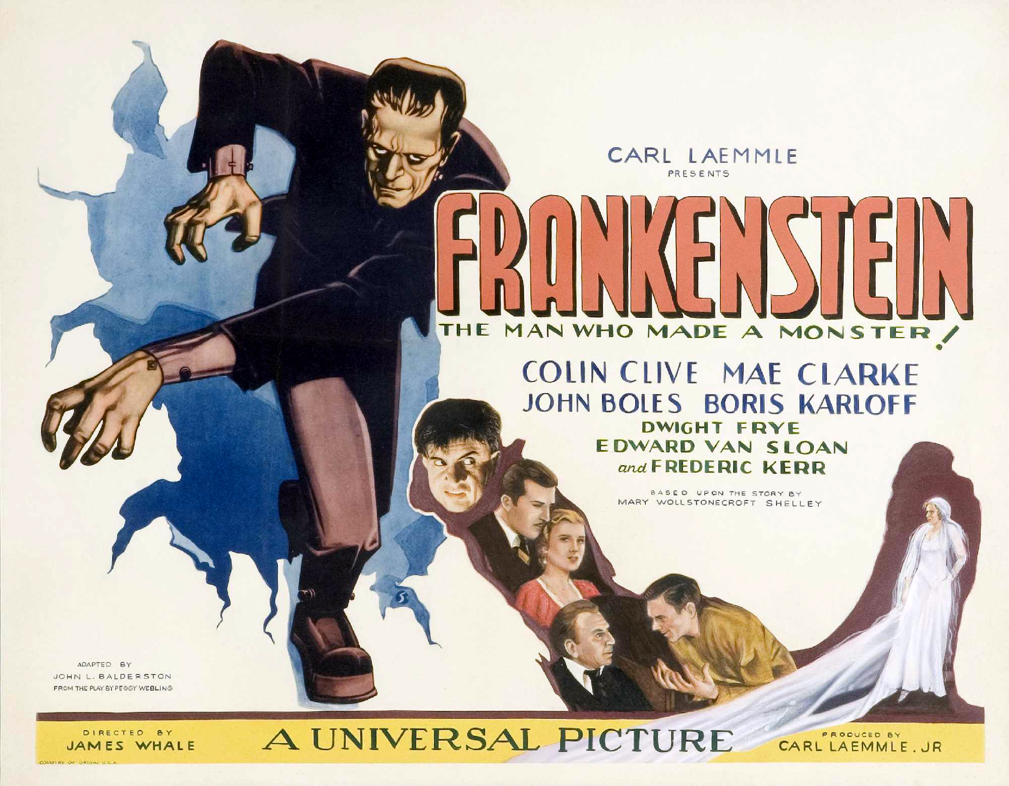 Постер фильма «Франкенштейн»