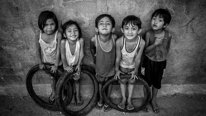 3-е место в категории «Дети». Фотограф Joy Loyola Ganitano