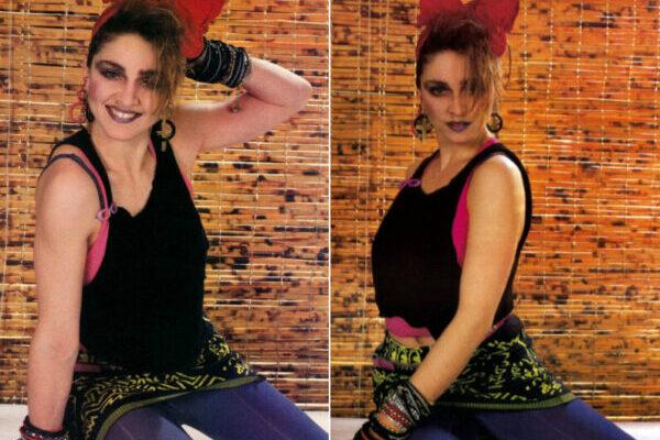 Цветные фотографии эпатажной Мадонны, 1984 год