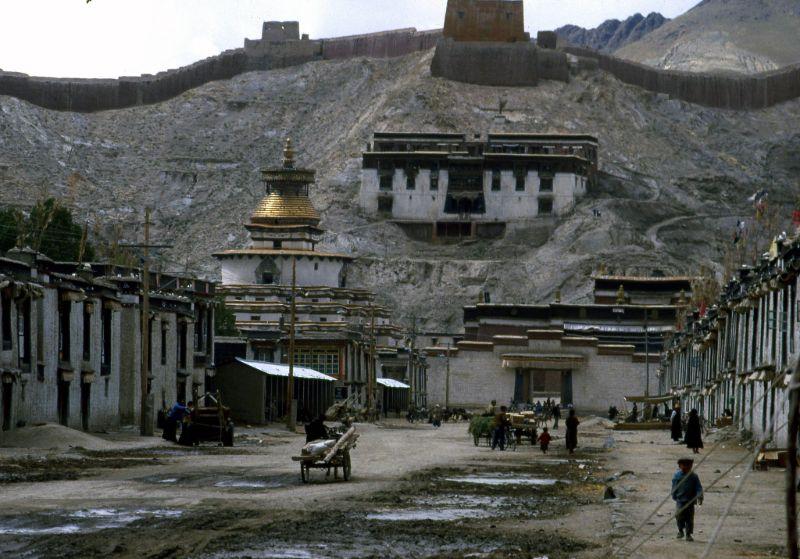 Повседневная жизнь в Тибете в 1987 году
