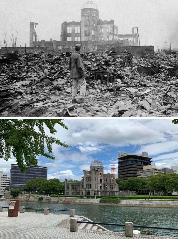 Купол Гэмбаку в Хиросиме 75 лет спустя