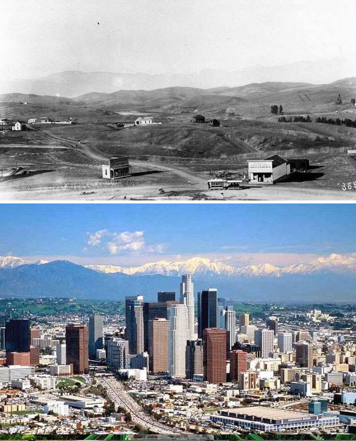 Ранний Лос-Анджелес по сравнению с 2001 годом