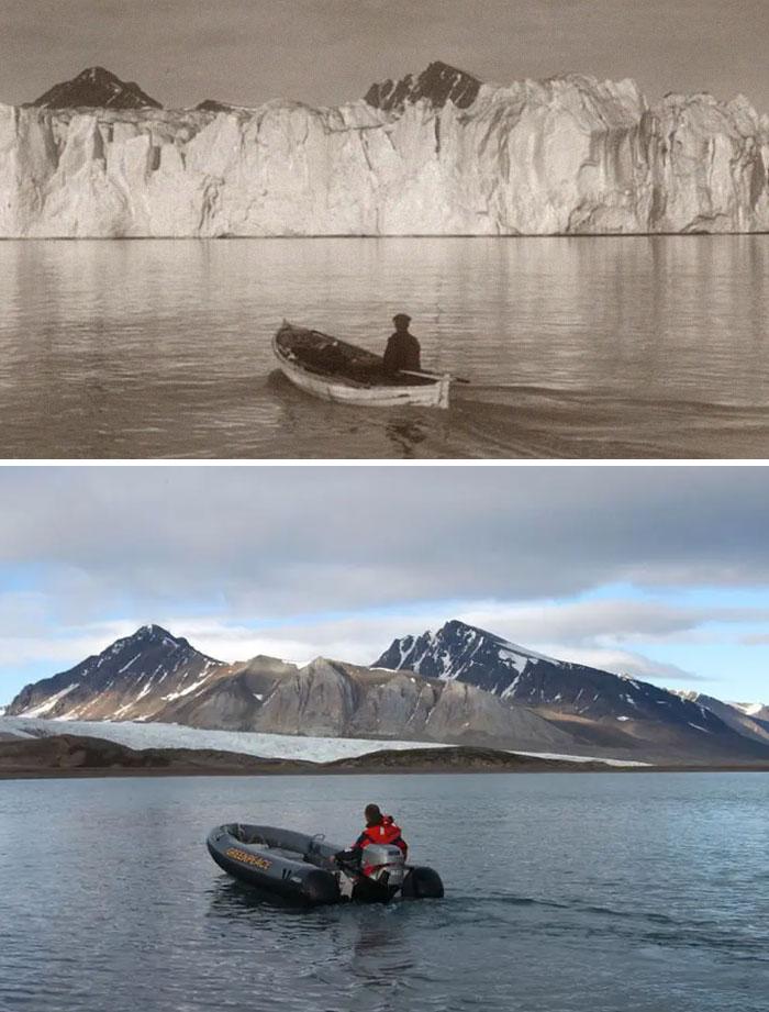 Арктика 103 года назад и сегодня