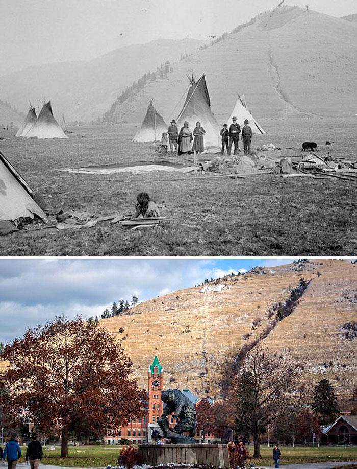 Университет штата Монтана, США, примерно 150 лет разницы