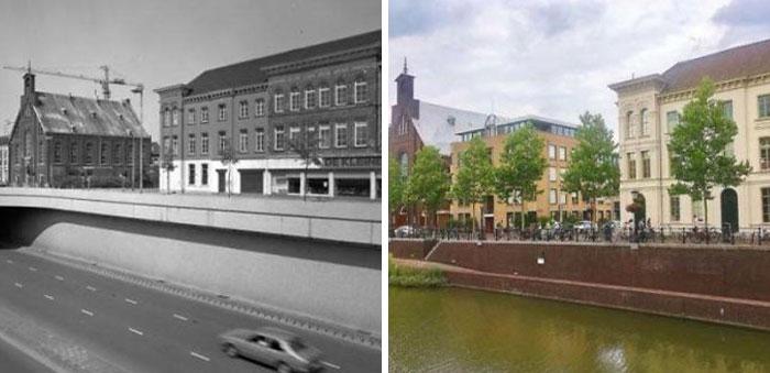 Утрехт, Нидерланды, 1982 и 2020 годы