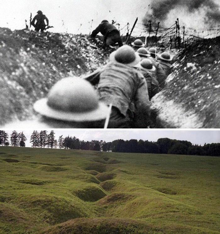 Окопы Первой мировой войны