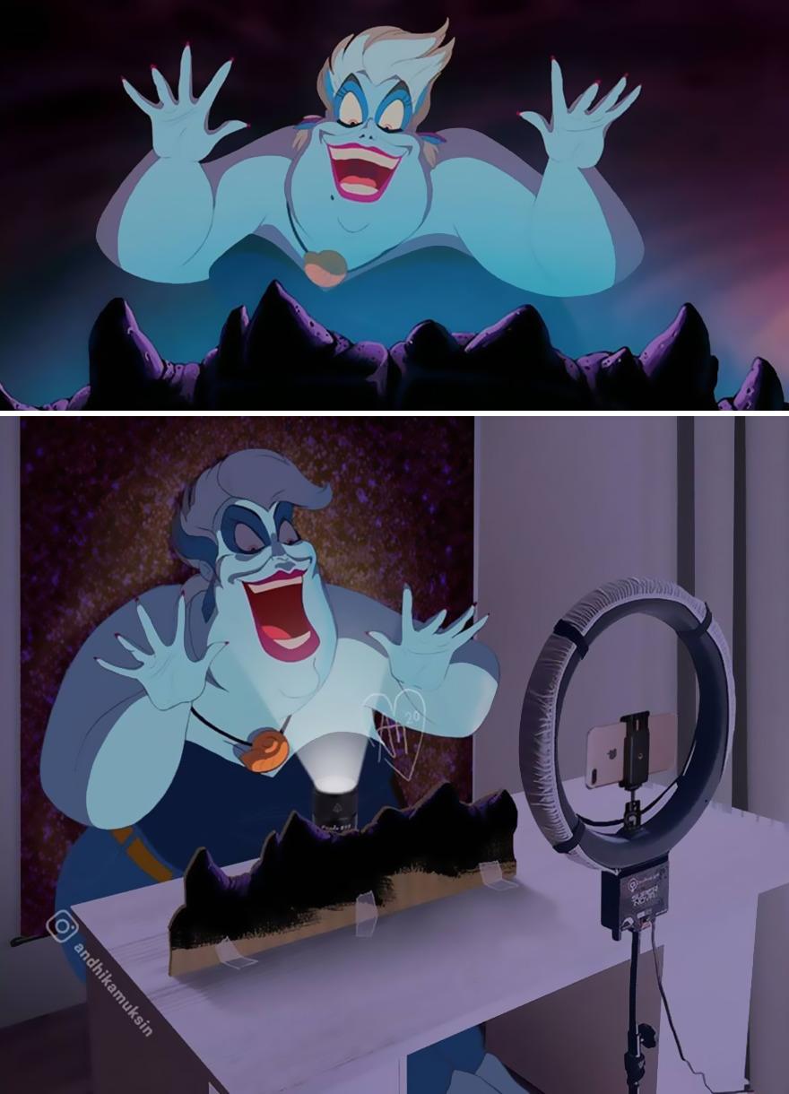 За кулисами мультфильмов Disney