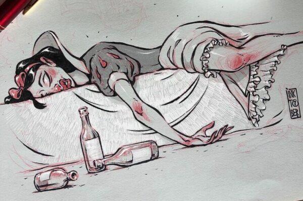 Забавные и жуткие иллюстрации от российского художника Константина Андреева