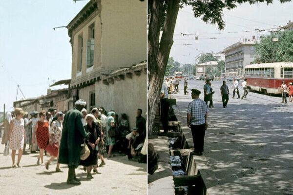 Увлекательные цветные фотографии Узбекистана в 1960-е годы