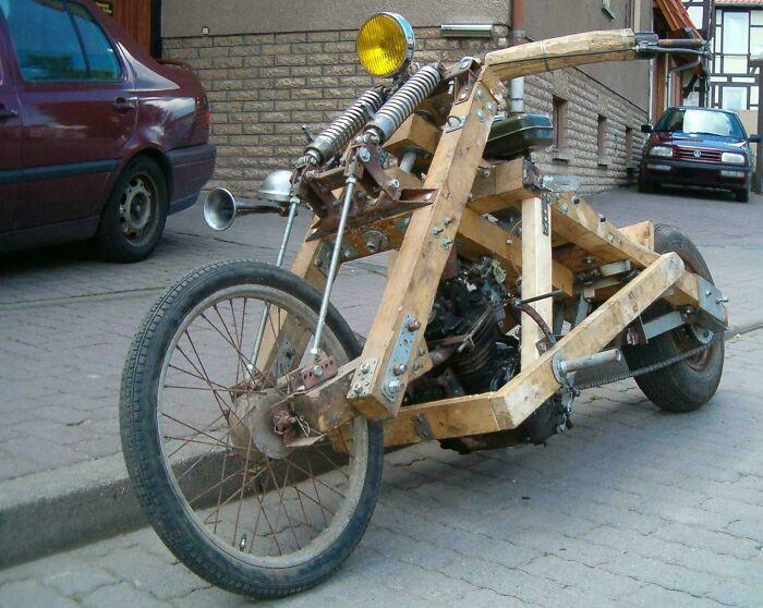 Тот, кто построил это, может претендовать на степень доктора технических наук