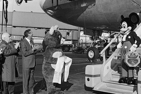 Первый официальный визит Микки Мауса в СССР, 1988 год