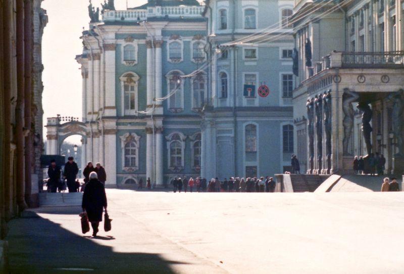 Ленинград, Зимний дворец