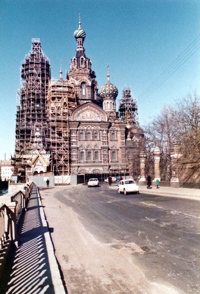 Ленинград, храм Спас на Крови