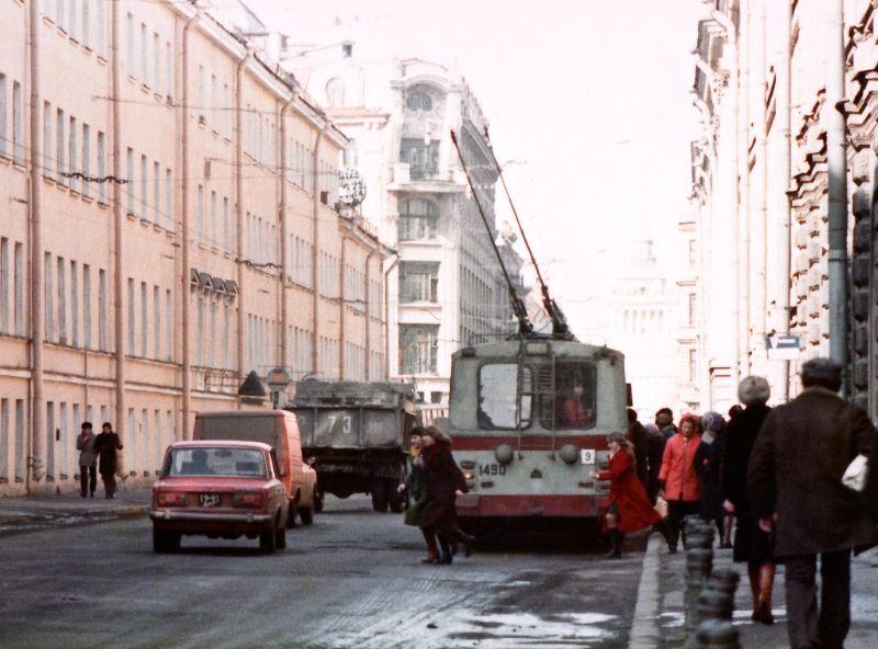 Ленинград, Гороховая улица