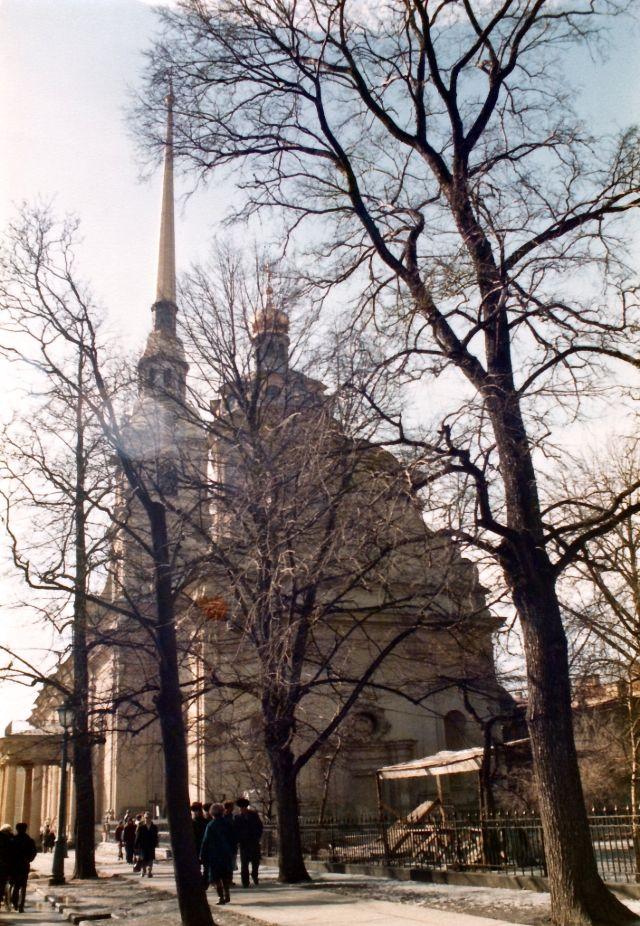 Ленинград, Петропавловский собор