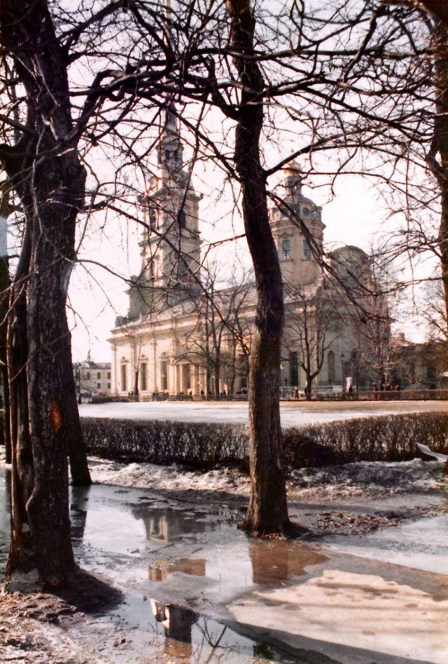 Ленинград, Петропавловская крепость