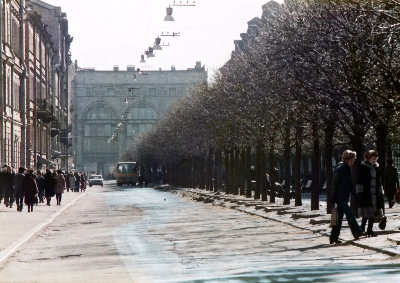 Ленинград, улица Желябова