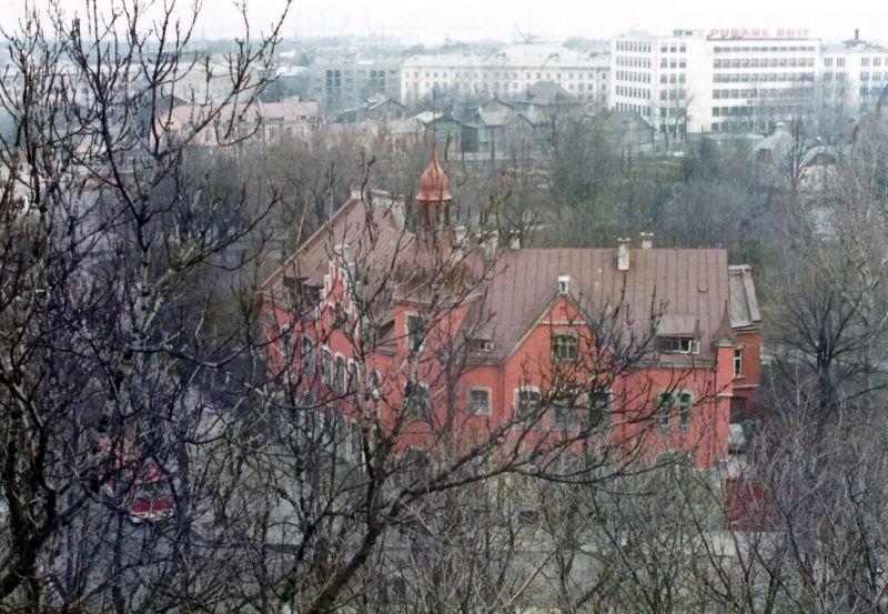 Эстония, Таллинн, вид с обзорной площадки Паткули