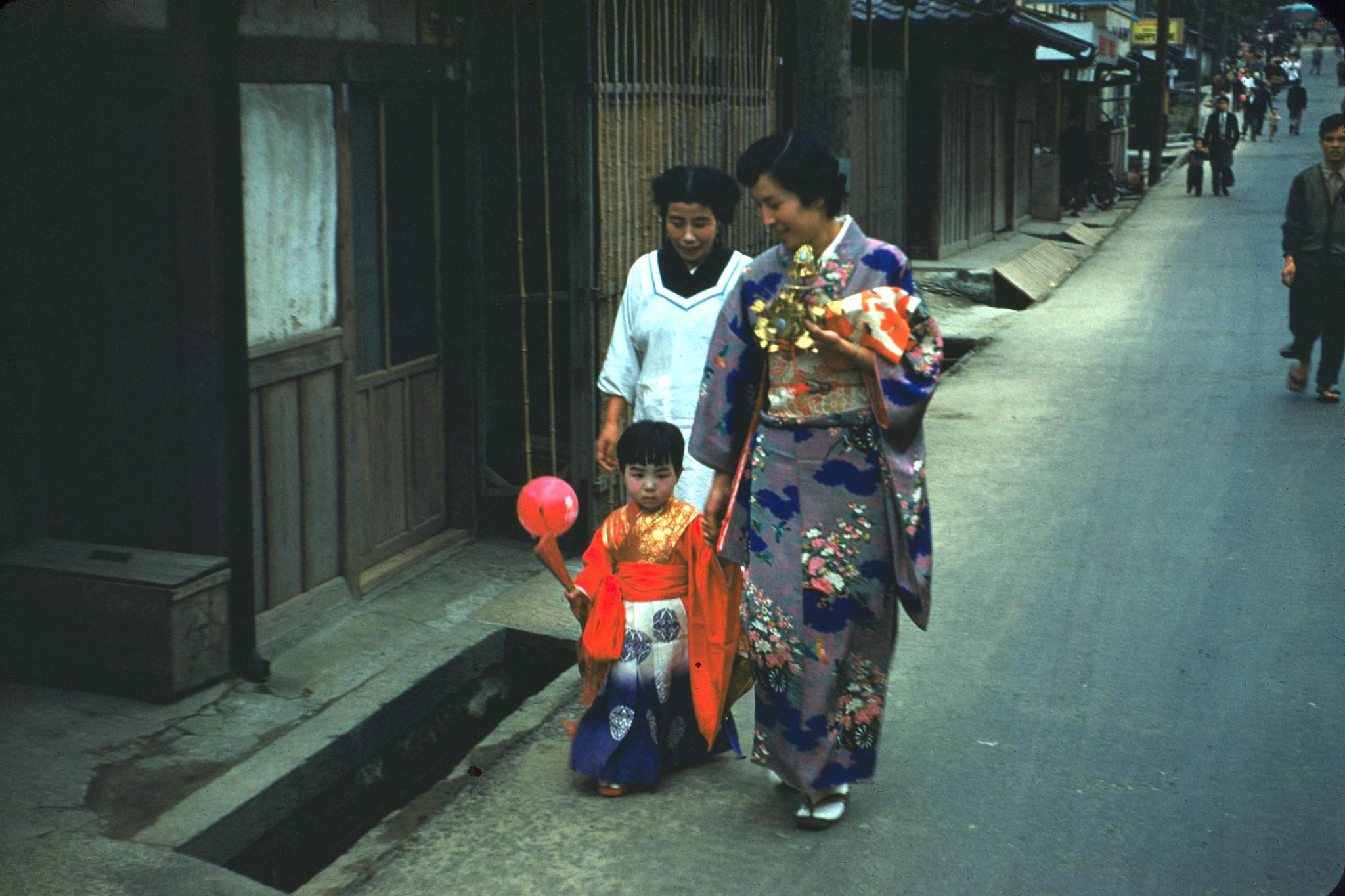 Япония в середине 1950-х годов