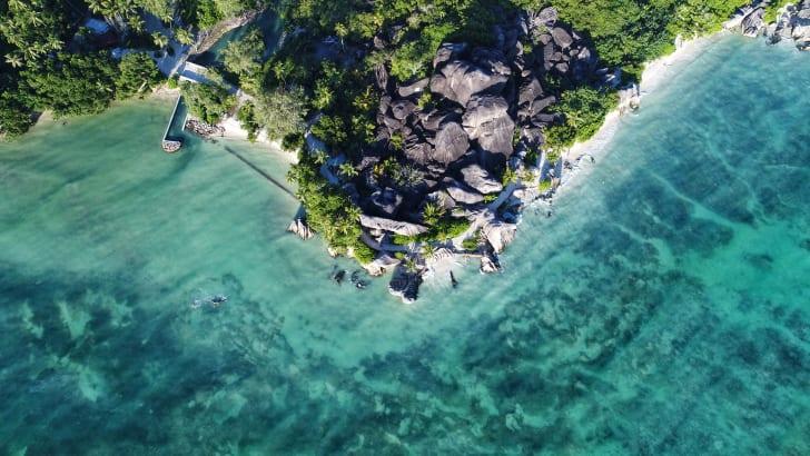 Анс Сурс д'Аржан, Сейшельские острова