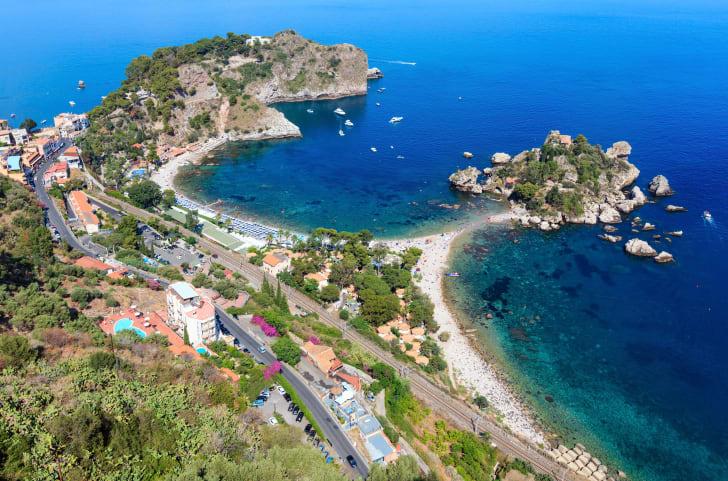 Изола-Белла, Таормина, Сицилия