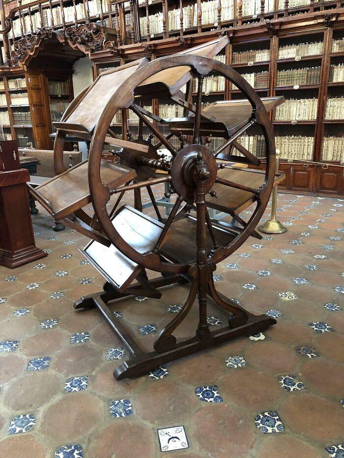 Библиотечный инструмент 300-летней давности