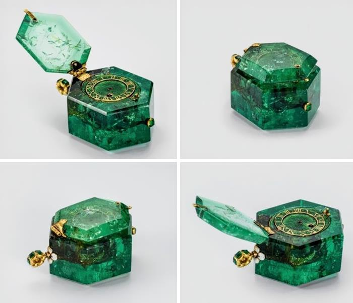Карманные часы 350-летней давности