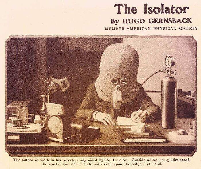 «Изолятор» - шлем для улучшения внимания