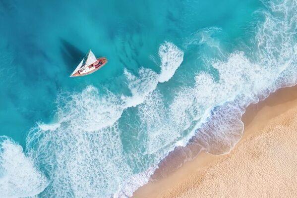 15 самых популярных пляжей мира с высоты птичьего полёта