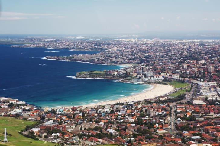 Пляж Бондай, Сидней, Австралия
